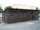 Boxe exterioare din lemn 1