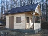 Cabana pe structura de lemn 1