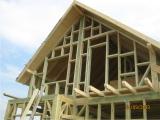 Casa pe structura de lemn 1