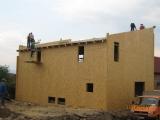 Casa pe structura de lemn 12