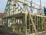 Casa pe structura de lemn 4