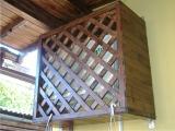 Garduri si pergole - Masca decorativa din lemn 2