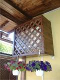 Garduri si pergole - Masca decorativa din lemn
