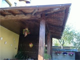 Garduri si pergole - Structura pergola de lemn 2