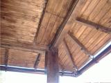 Garduri si pergole - Structura pergola de lemn