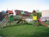 Loc de joaca pentru copii - Tub cu doua turnuri 2