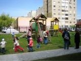 Loc de joaca pentru copii - Tub cu doua turnuri 3