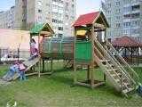 Locuri de joaca pentru copii - Tub cu doua turnuri