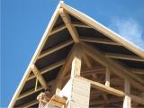 Mansarda pe structura de lemn 2