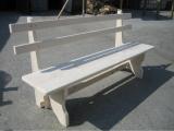 Produse din lemn pentru amenajari exterioare - banca din lemn