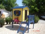 Produse din lemn pentru amenajari exterioare - casuta pentru copii