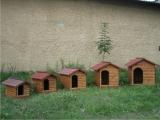Produse din lemn pentru amenajari exterioare - cusca pentru caine 1