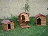 Produse din lemn pentru amenajari exterioare - cusca pentru caine 2
