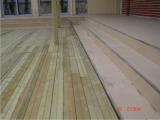 Produse din lemn pentru amenajari exterioare - dusumea exterioara