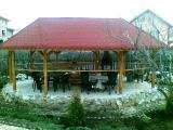 Produse din lemn pentru amenajari exterioare - foisor din lemn 2