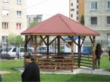 Produse din lemn pentru amenajari exterioare - foisor din lemn