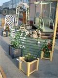 Produse din lemn pentru amenajari exterioare - ghivece din lemn