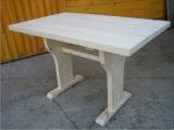 Produse din lemn pentru amenajari exterioare - masa patrata pentru exterior