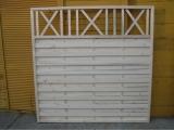 Produse din lemn pentru amenajari exterioare - panou de gard 1