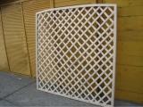 Produse din lemn pentru amenajari exterioare - panou de gard 2