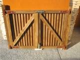 Produse din lemn pentru amenajari exterioare - porti exterioare