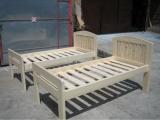Produse din lemn pentru amenajari interioare - pat simplu pentru copii