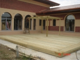 Terase exterioare din lemn 1